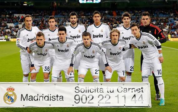 Реал Мадрид - Алкояно.