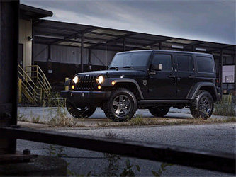 Jeep Wrangler Call of Duty: Black Ops Edition. Фото Jeep