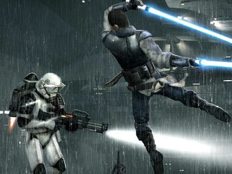 Кадр из игры Star Wars: The Force Unleashed 2