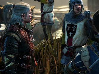 Кадр из игры The Witcher 2
