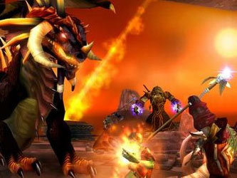 Кадр из игры World of Warcraft