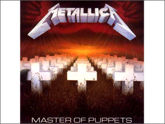 "Обложка альбома ""Master of Puppets"""