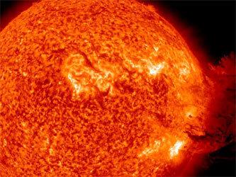 Такой мощной вспышки на Солнце еще не видели