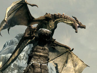 Кадр из игры The Elder Scrolls V: Skyrim