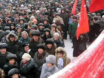 Зюганов не исключил штурма Кремля