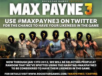 Геймеры могут увидеть в Max Payne3 свои лица