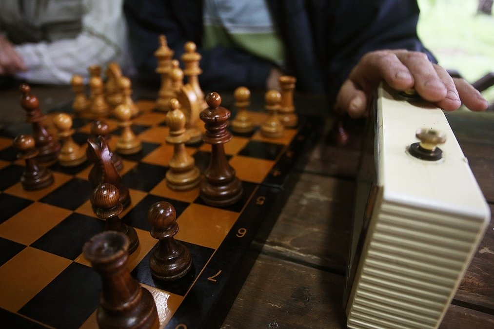 Новосибирские шахматисты: надоело бегать от дождя