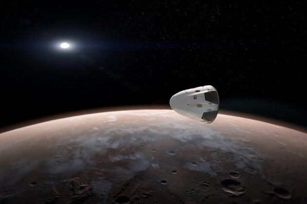 Аномальные каналы у Марса