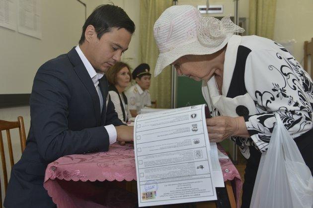 Памфилова огласила предварительные результаты выборов