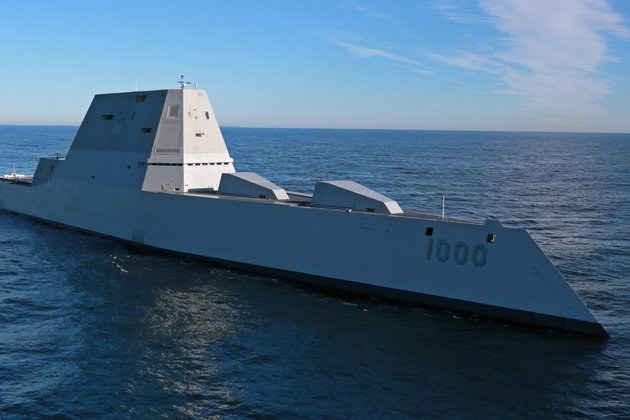 Корабль бэтмена» вошел в состав ВМС США