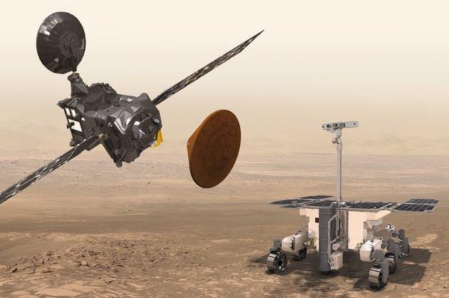 Российский зонд долетел до Марса