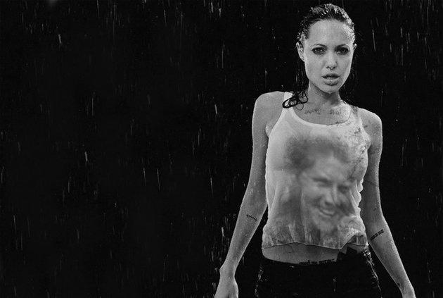 Размещены скандальные кадры молодой Анджелины Джоли