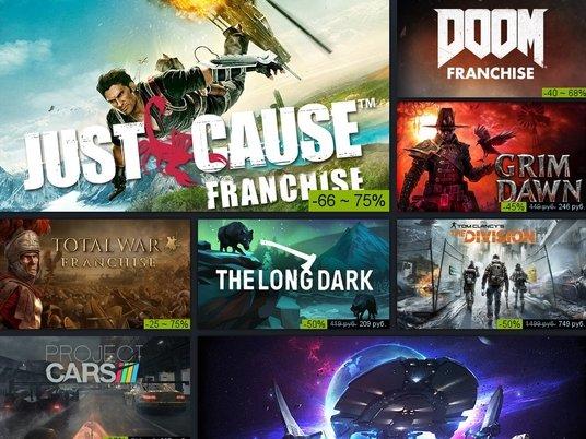 В Steam началась грандиозная распродажа