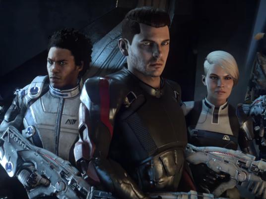 Создатели новой Mass Effect показали загадочных инопланетян
