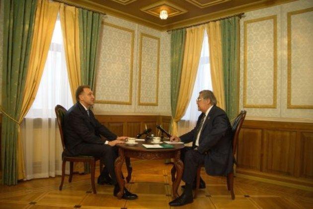 ВКузбасс срабочим визитом прибыл 1-ый заместитель руководителя правительства Игорь Шувалов