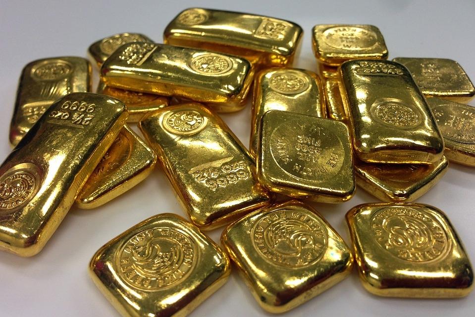 ловить золотые слитки