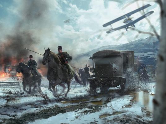 Игрокам Battlefield показали армию Российской империи