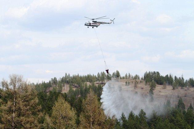 Площадь лесных пожаров вЗабайкалье превысила тысячу гектаров