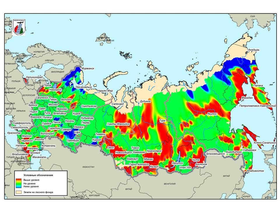 Площадь лесных пожаров вСибири засутки подросла неменее чем вдвое