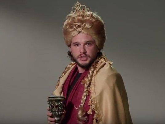 Актер Кит Харингтон спародировал героев «Игры престолов»