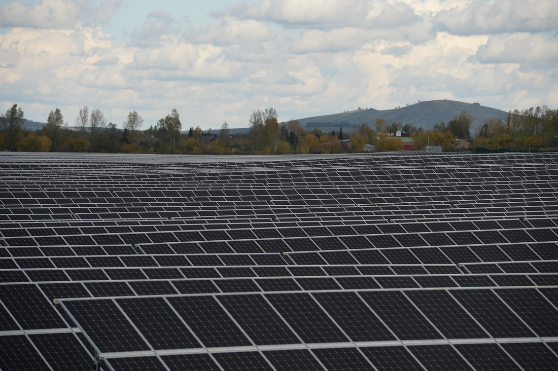 В Российской Федерации запустили первую солнечную электростанцию наотечественных гетероструктурных модулях