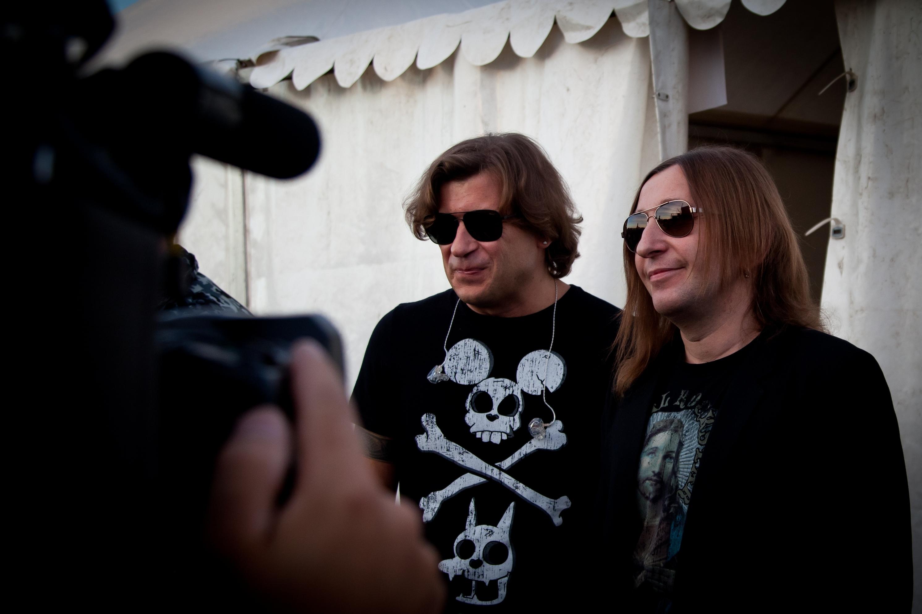Группа «Би-2» презентует в Новосибирске новый альбом