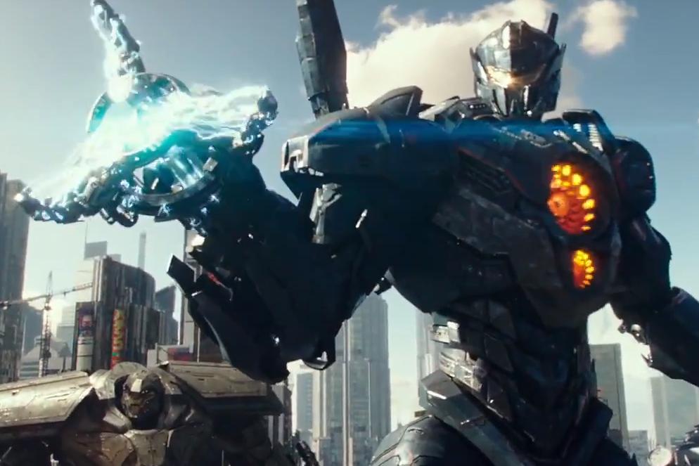 «Тихоокеанский рубеж 2»: монстры против роботов