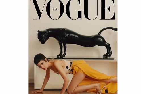 Скульптура бурятского мастера попала на обложку Vogue