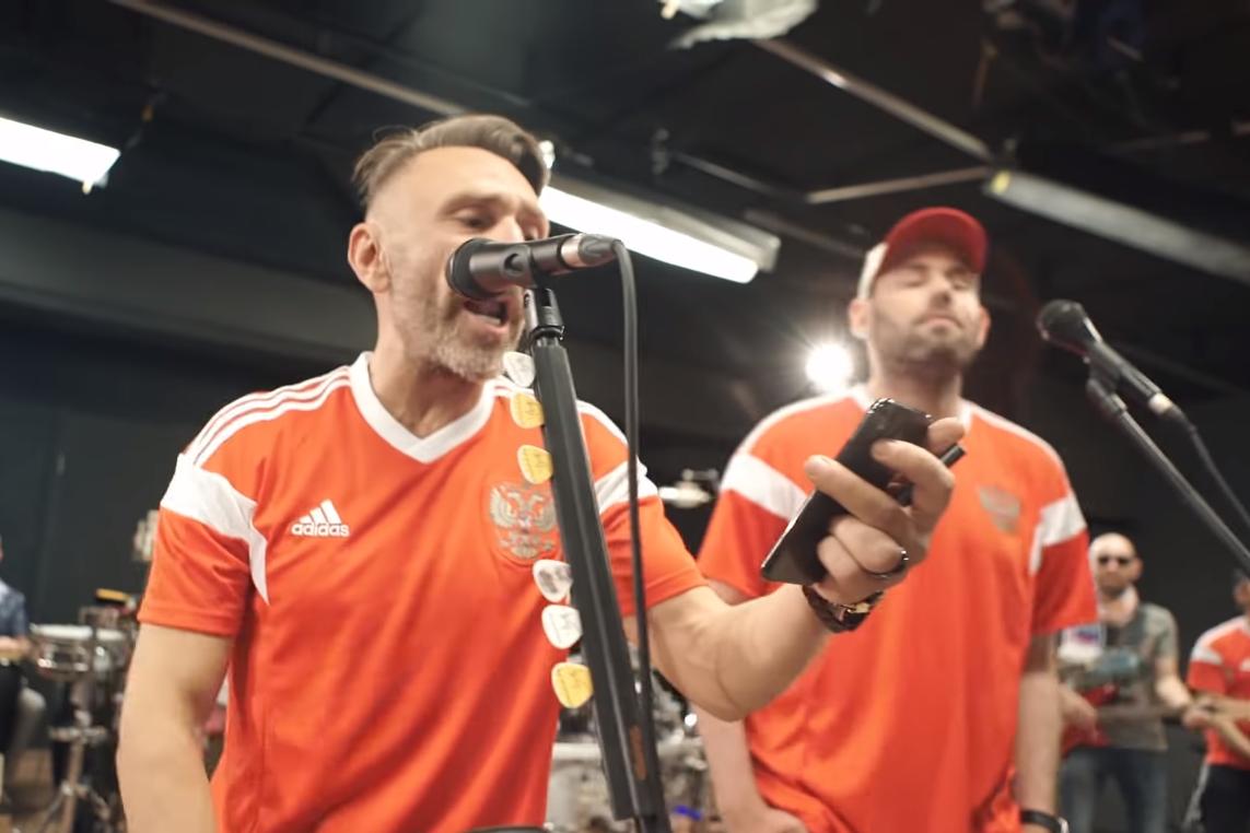 Слепаков и Шнуров выпустили совместную песню о футболе