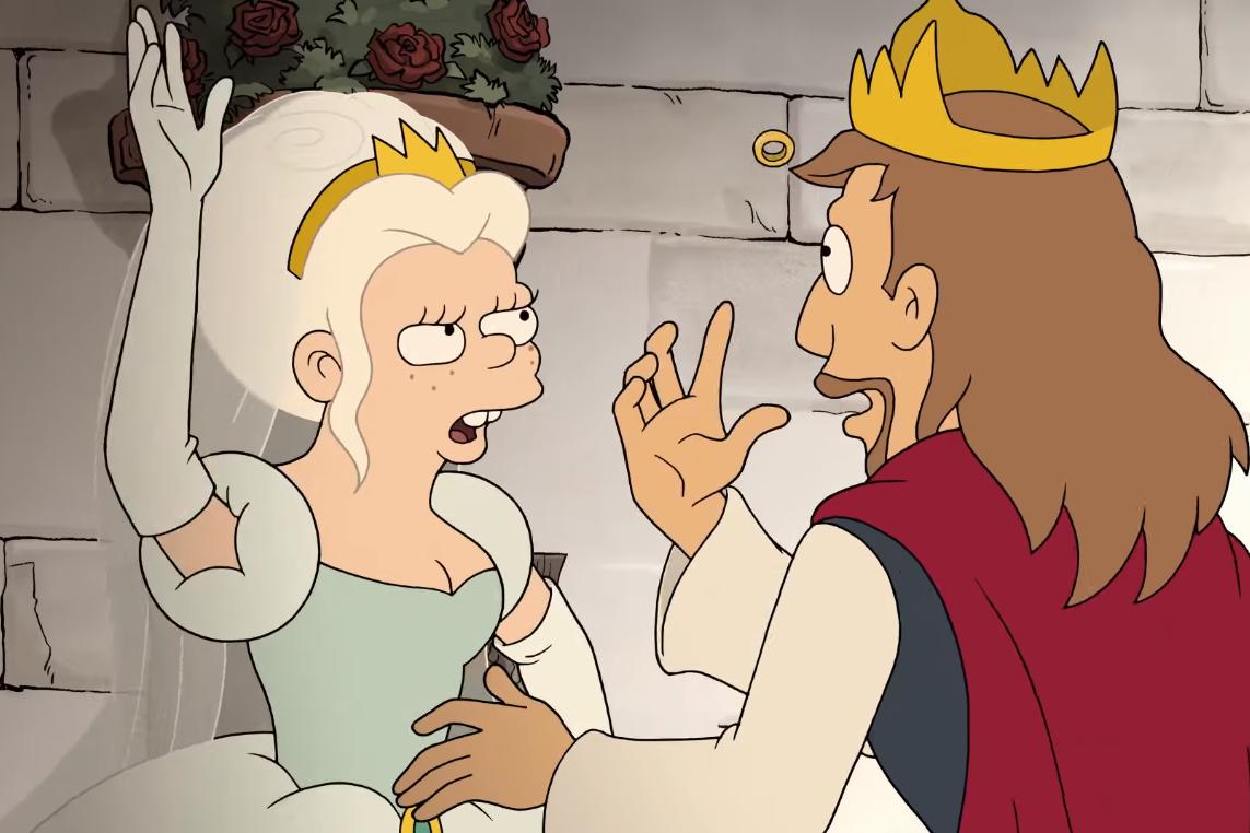 Мультфильм о сбежавшей принцессе презентовали создатели «Симпсонов»