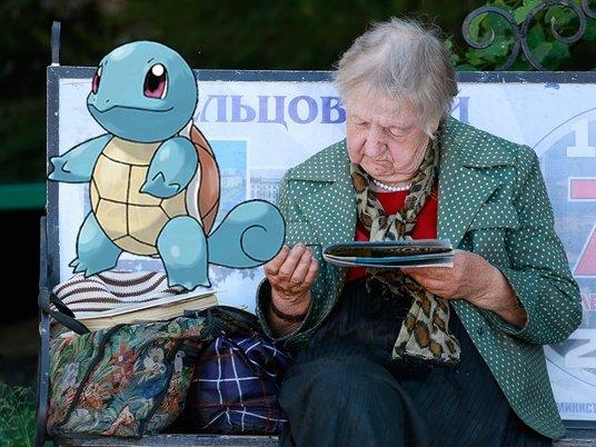 Игра Pokemon Go появилась в России