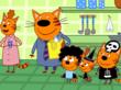 Права на анимацию «Три кота» впервые продали за рубеж