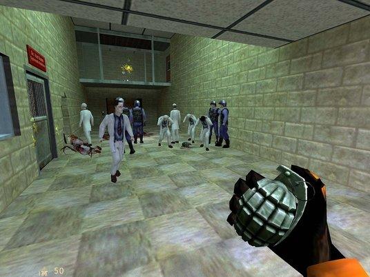 Нейросеть улучшила легендарную игру Half-Life