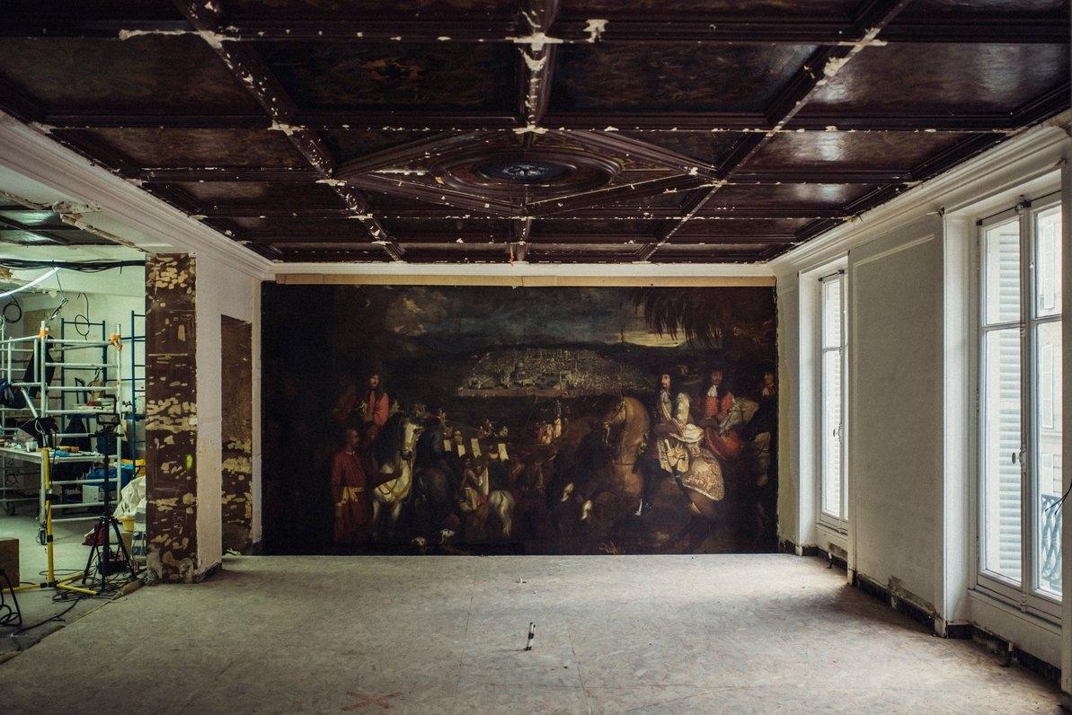 Картину XVII века нашли во французском бутике во время ремонта