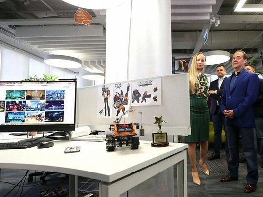 Медведев раскритиковал западные компьютерные игры