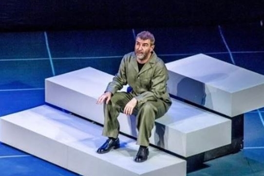 Гришковец дважды покажет спектакль «Предисловие» в Новосибирске