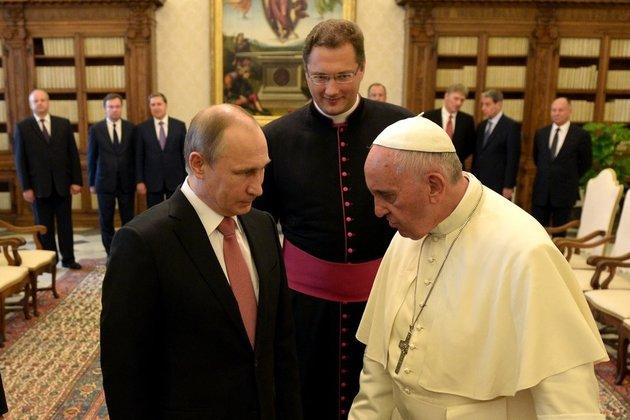 Путин поделился откровением Папы Римского после встречи вВатикане