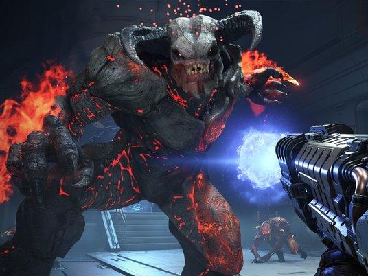 Вышла игра Doom Eternal