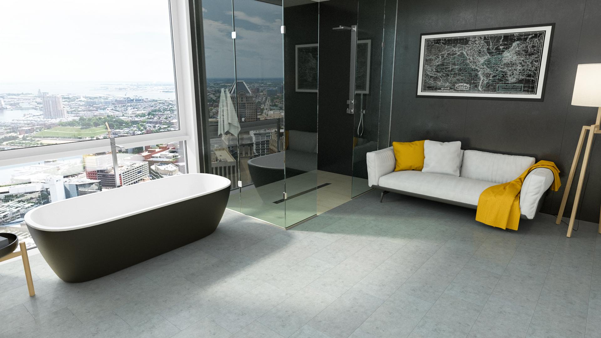 Ламинат для ванных: какое напольное покрытие лучше? - Домострой -