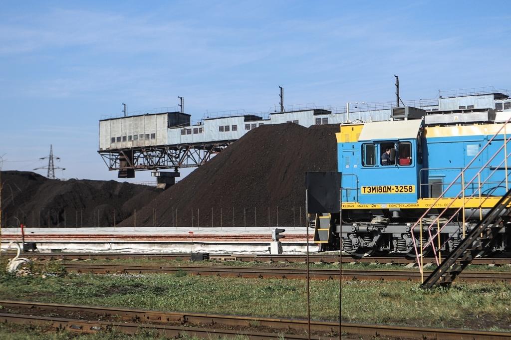 Погрузка угля на ТЭЦ-3