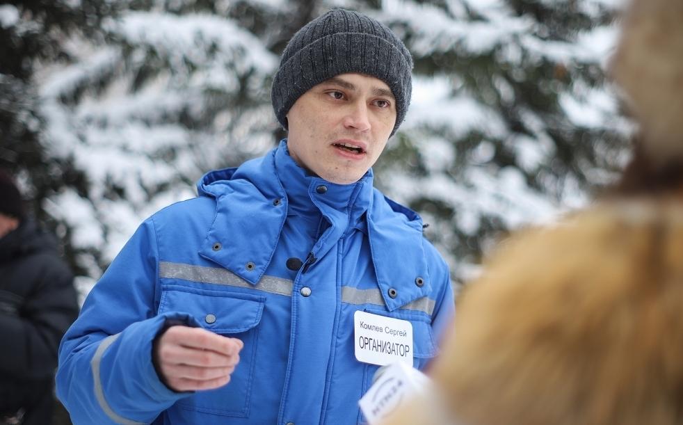 Глава первичной организации профсоюза «Действие» Сергей Комлев