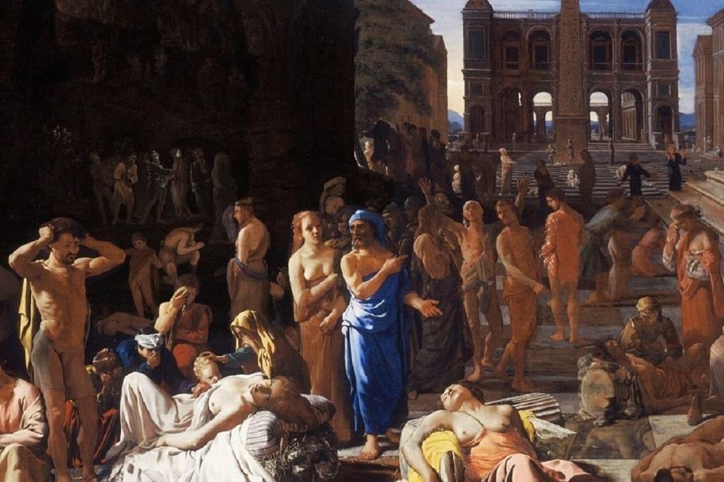 Михаэль Свертс. «Чума в Афинах».