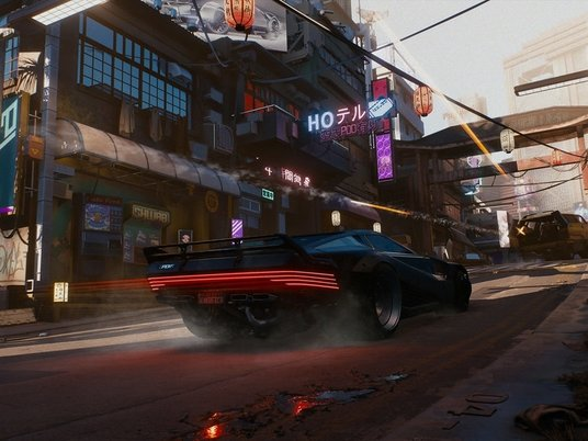 Cyberpunk 2077 признали игрой случшей графикой в2020 году