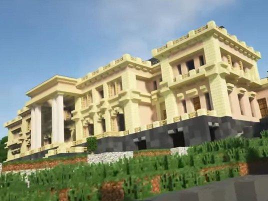 «Дворец Путина» воссоздали вMinecraft