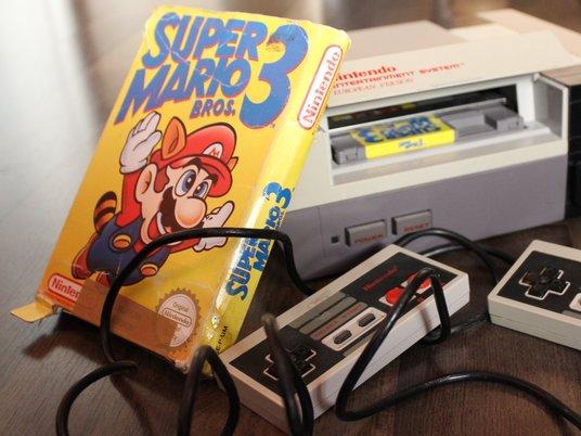 Картридж Super Mario продали зарекордные деньги