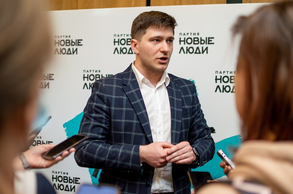 Координатор партии «Новые люди» в СФО Алексей Рвачев