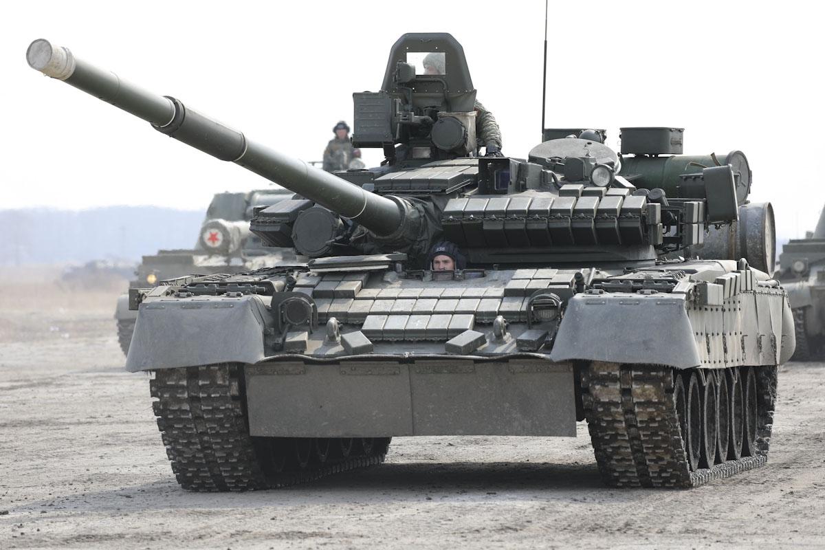 Газотурбинный танк Т-80БВ
