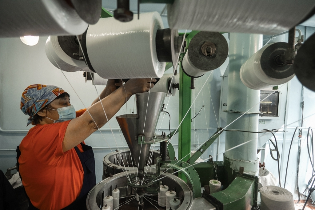 Производство детонирующего шнура на заводе