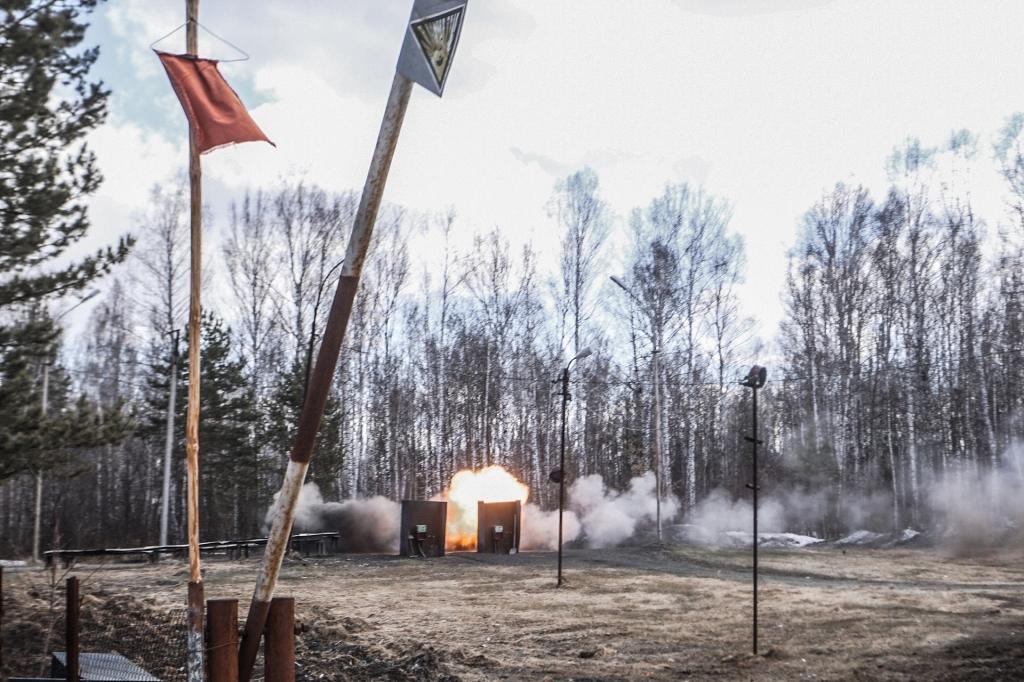 Опытный полигон на новосибирском заводе