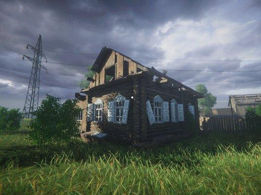 Игрокам предложили симулятор одиночества врусской деревне